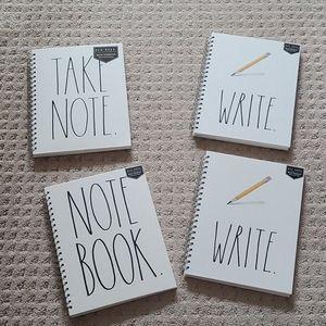 NWT Rae Dunn spital notebook.